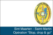 'Stop, Drop & Go!' ; A safer Sint Maarten starts with you!