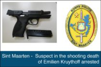 Sint Maarten – Suspect in the shooting death of Emilien Kruythoff arrested