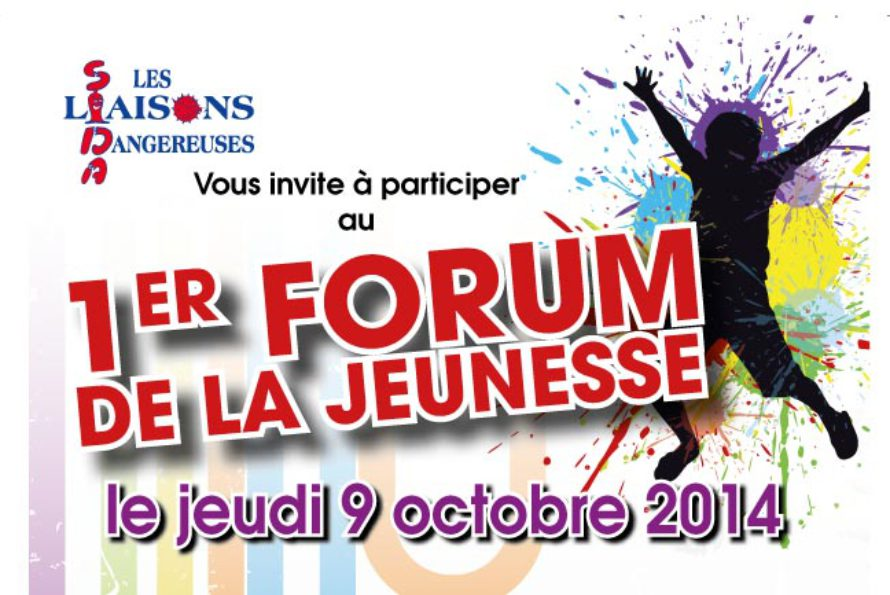 """Saint-Martin – L'association """"Sida Liaisons Dangereuses"""" vous invite à participer au premier forum de la jeunesse ce jeudi 09 octobre"""