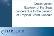 Sint Maarten – Cruise vessel Explorer of the Seas cancels due to the passing of Tropical Storm Gonzalo