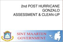 Sint Maarten – 2nd POST HURRICANE GONZALO ASSESSMENT & CLEAN-UP