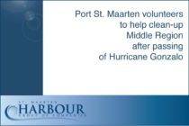 Port St. Maarten volunteers to help clean-up Middle Region after passing of Hurricane Gonzalo