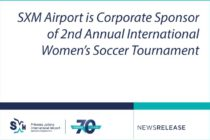 SXM Airport is Corporate Sponsor of 2nd Annual International Women's Soccer Tournament