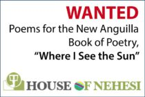 "WANTED: Poems for the New Anguilla Book of Poetry, ""Where I See the Sun"""