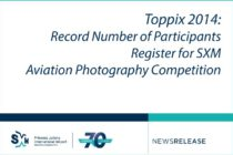 Toppix 2014 – Record Number of Participants Register for SXM Aviation Photography Competition