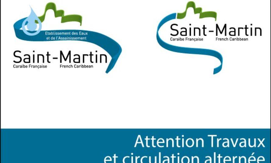 Saint-Martin – Attention travaux et circulation alternée