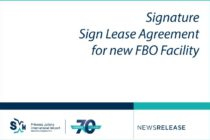 SXM Airport, Signature NV Sign Lease Agreement for new FBO Facility