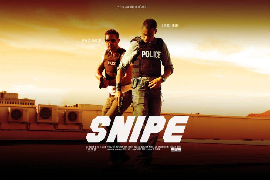 Saint-Martin : décor du tournage du pilote de la série policière SNIPE