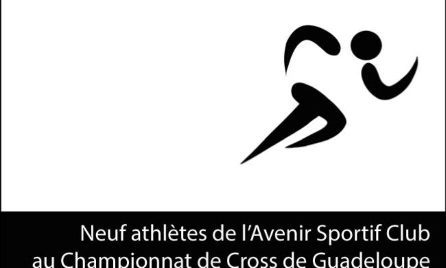 Cross – Les athlètes de l'Avenir Sportif Club présents au championnat de Guadeloupe