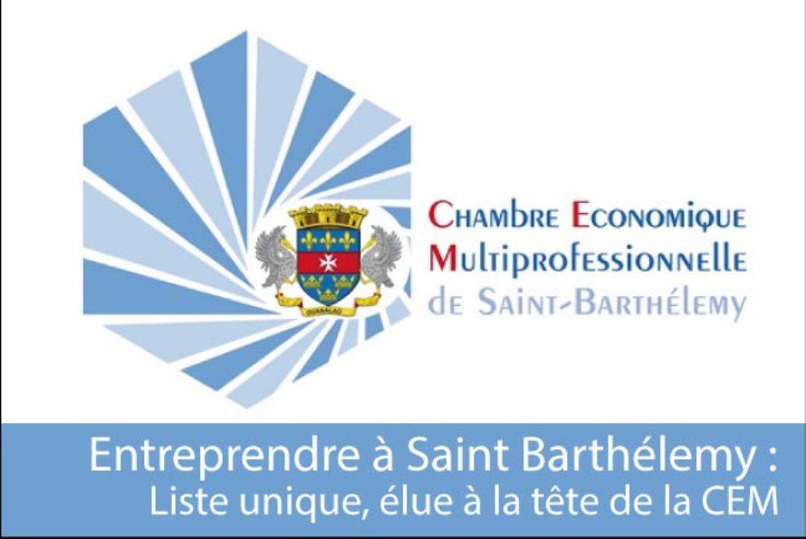 Saint Barthélemy –  Election de la liste Entreprendre à la CEM