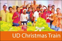 Saint-Martin : Third edition of UD Christmas Train