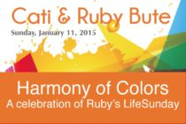 "Art – Cati BURNOT & Ruby Bute exposent une ""Harmony of Colors"""