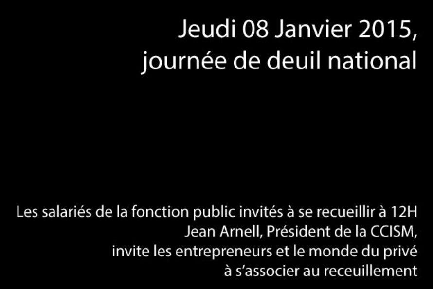 Recueillement national dans la fonction public le Jeudi 08 Janvier à 12h00, le secteur privé invité à la communion…