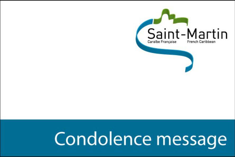Message de la Présidente Aline Hanson : Décès tragique de Laurent Gros-Désormeaux