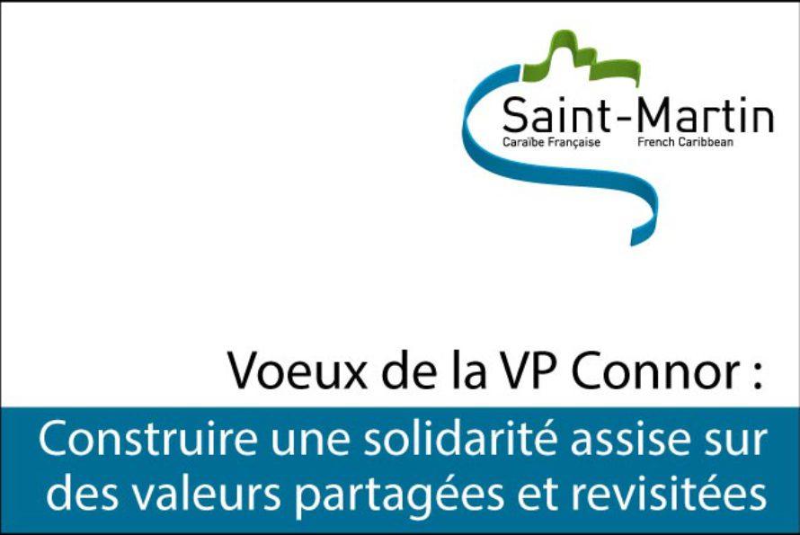 Saint-Martin : Voeux de Mme Ramona CONNOR, Vice-Présidente en charge du Pôle Solidarité & Familles