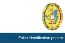 Sint Maarten : False identification papers