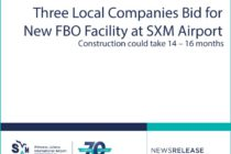 SXM Airport : Three Local Companies Bid for New FBO Facility