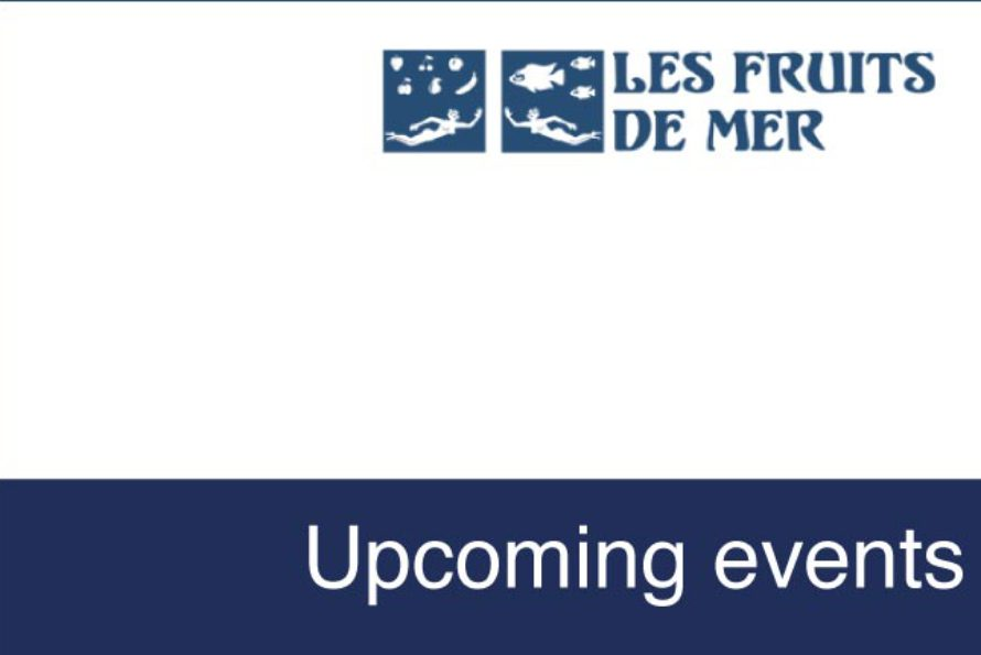Saint-Martin : Upcoming events with Les Fruits de Mer
