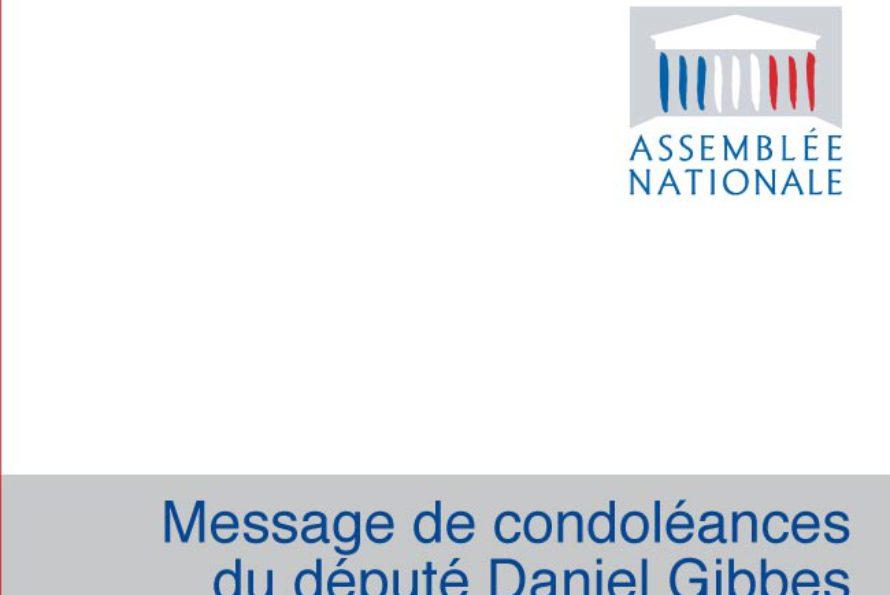 Saint-Martin : Condoléances du député Gibbes suite au décès d'Alain Tochou