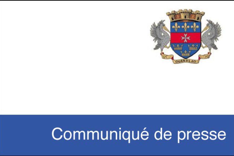 COMMUNIQUÉ DE LA COLLECTIVITÉ DE ST-BARTHÉLEMY : l'accès aux carreaux de sel de l'étang de Saline et de leurs abords est interdit