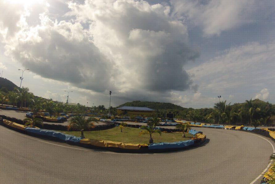 Go-karting Coconut-Trees à la savane ré-ouvre aujourd'hui !