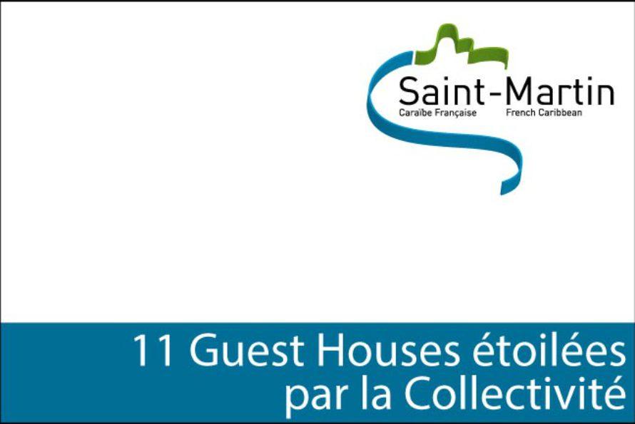 Saint-Martin – 11 Guest Houses étoilées par la Collectivité