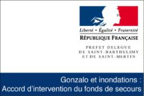 Gonzalo et inondations : Accord d'intervention du fonds de secours