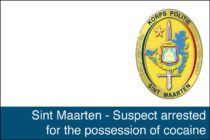 Sint Maarten – Suspect arrested for the possession of cocaine