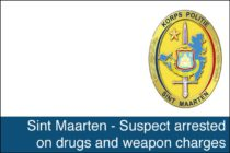 St. Maarten – Suspect arrested on drugs and weapon charges