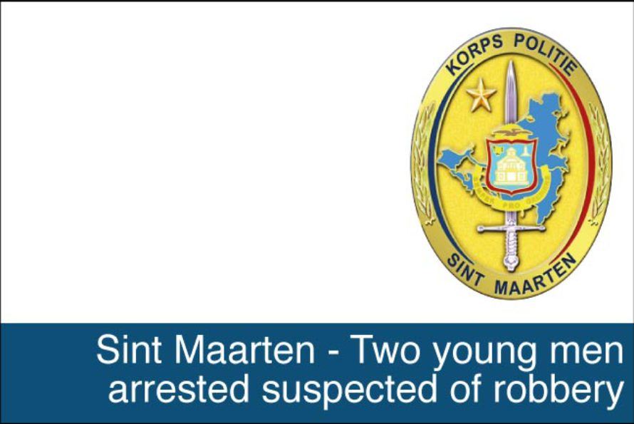 St. Maarten – Two young men arrested suspected of robbery