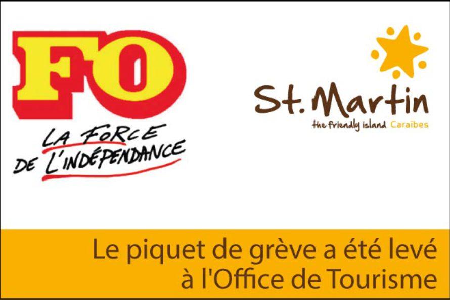Saint-Martin – Le piquet de grève a été levé à l'Office de Tourisme