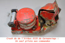 Crash de l'A320 de Germanwings : Un seul pilote aux commandes