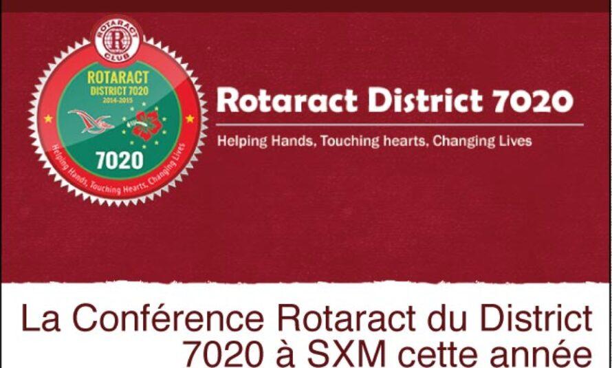 Saint-Martin – La Conférence Rotaract du District 7020 à SXM cette année.