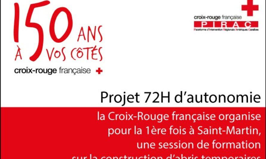 Croix-Rouge – Pour la première fois à Saint-Martin : formation sur la construction d'abris temporaires