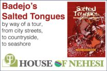 Badejo's Salted Tongues … by way of a tour, from city streets, to countryside, to seashore