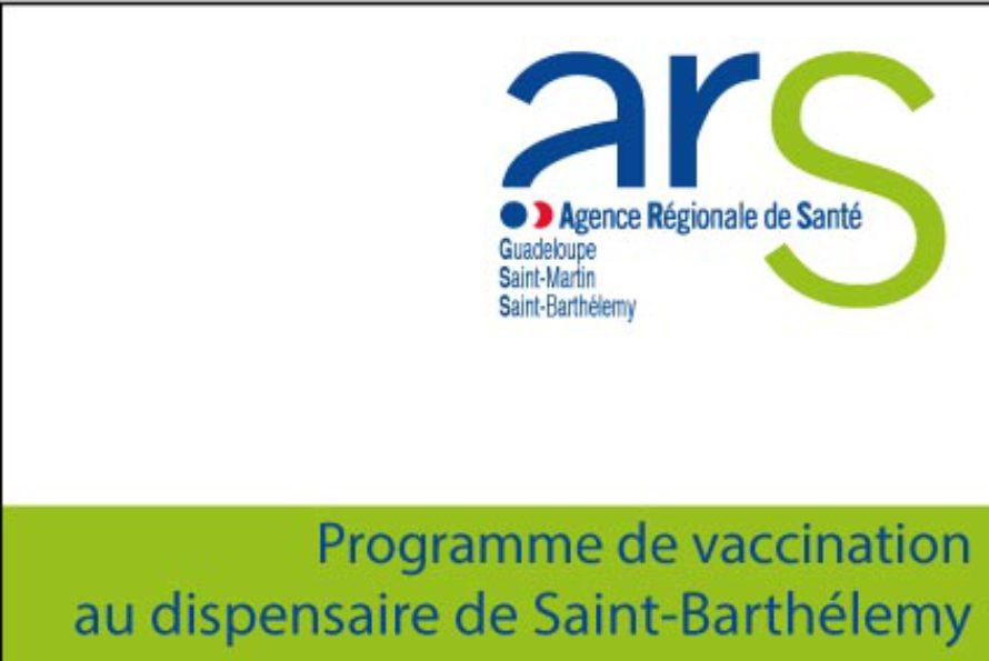 Saint-Barthélemy – Programme de vaccination au dispensaire