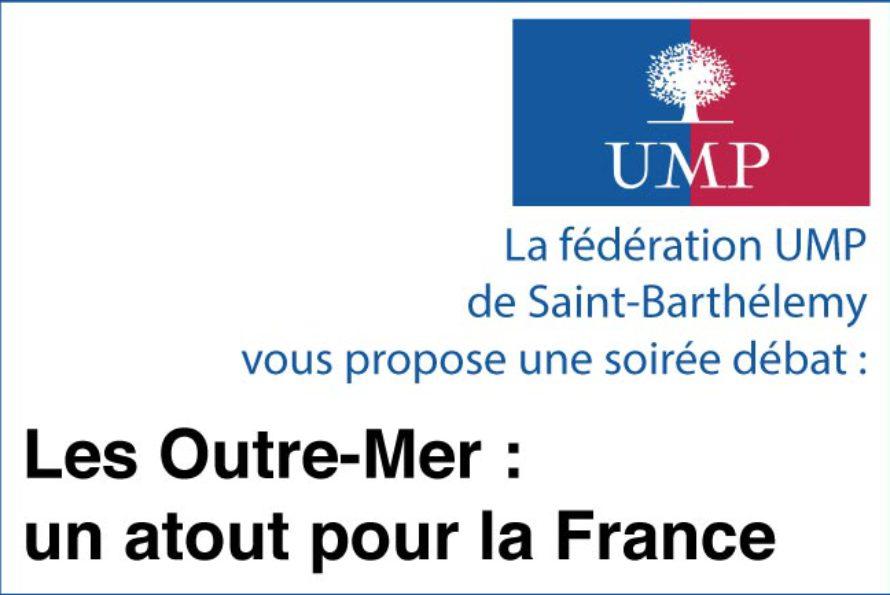 """St Barth – """"Les Outre-Mer : un atout pour la France"""", un débat proposé par la fédération UMP"""