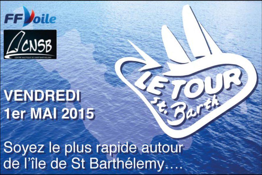 Voile – Soyez le plus rapide autour de l'île de St Barthélemy !
