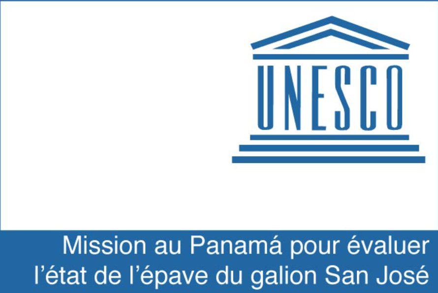 L'UNESCO envoie une mission au Panamá pour évaluer l'état de l'épave du galion San José