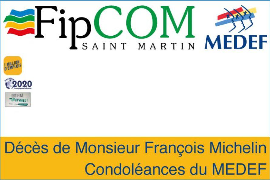 FIPcom/Medef – Décès de Monsieur François Michelin