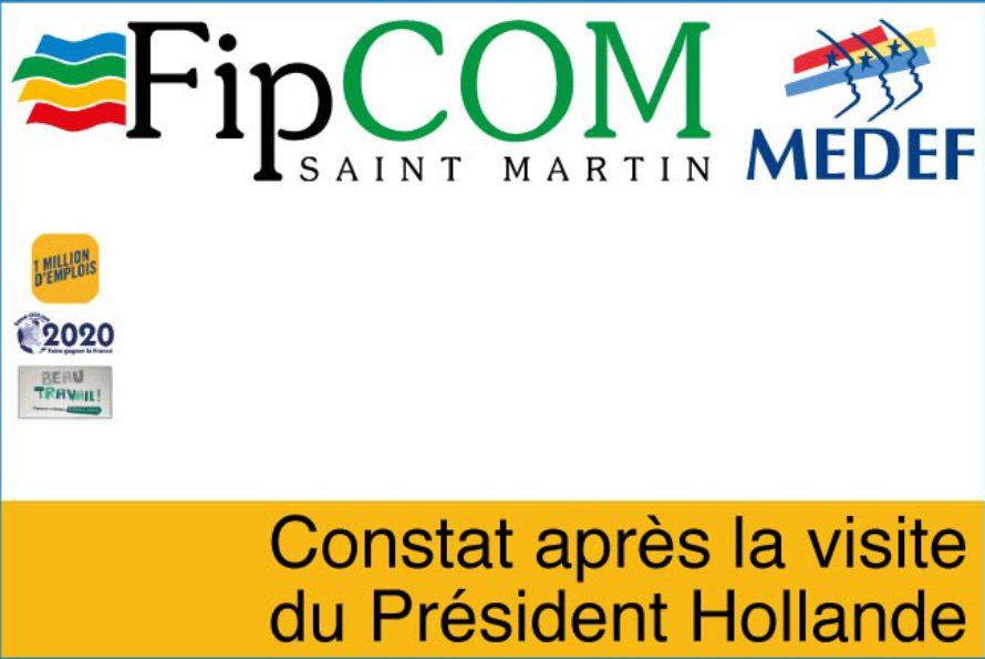 Saint-Martin – FIPcom, constat après la visite du Président Hollande