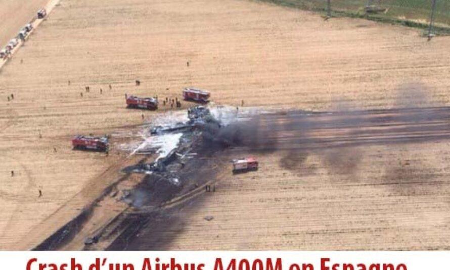 Crash d'un A400M : Un vol d'essai qui se termine en drame