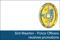 St. Maarten – Police Officers receives promotions