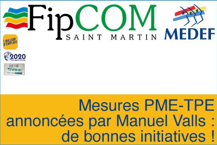 MEDEF – Mesures PME-TPE annoncées par Manuel Valls : de bonnes initiatives !