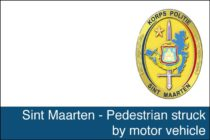 St. Maarten – Pedestrian struck by motor vehicle