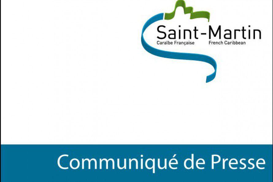 Collectivité de Saint-Martin : Arrêt jusqu'à nouvel ordre des travaux sur la RN7 à hauteur de Cripple Gate-Colombier