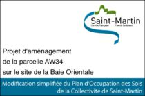 Modification simplifiée du Plan d'Occupation des Sols de la Collectivité de Saint-Martin