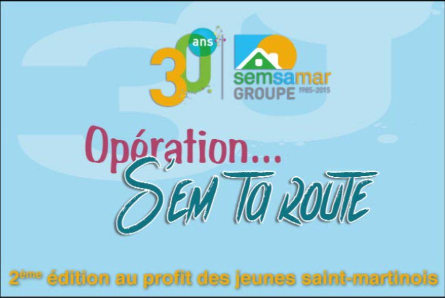 """La SEMSAMAR lance une deuxième édition de """"S'em ta route"""" au profit des jeunes saint-martinois"""
