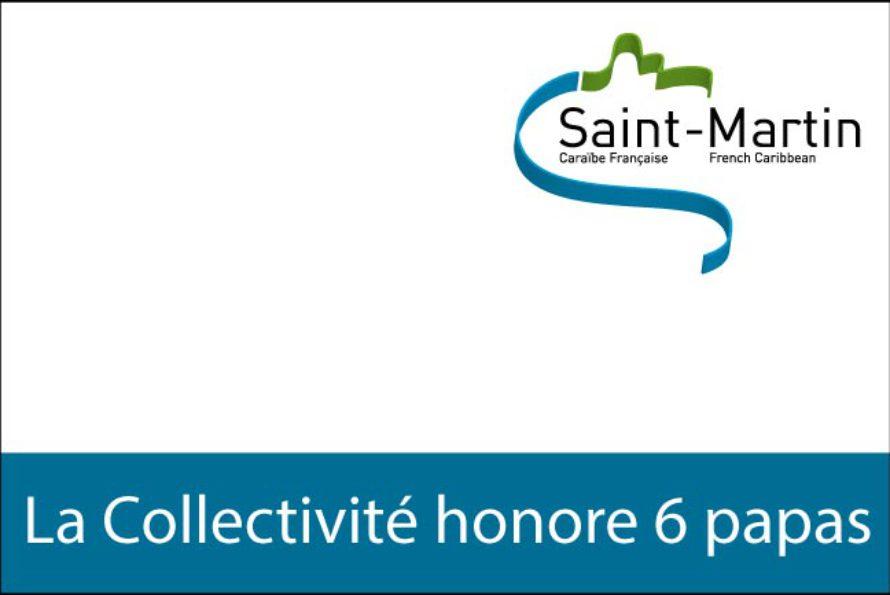 Saint-Martin – La Collectivité honore six Papas