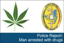 St. Maarten – Police Report: Man arrested with drugs